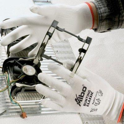 Zaštitne rukavice BUNTING bele