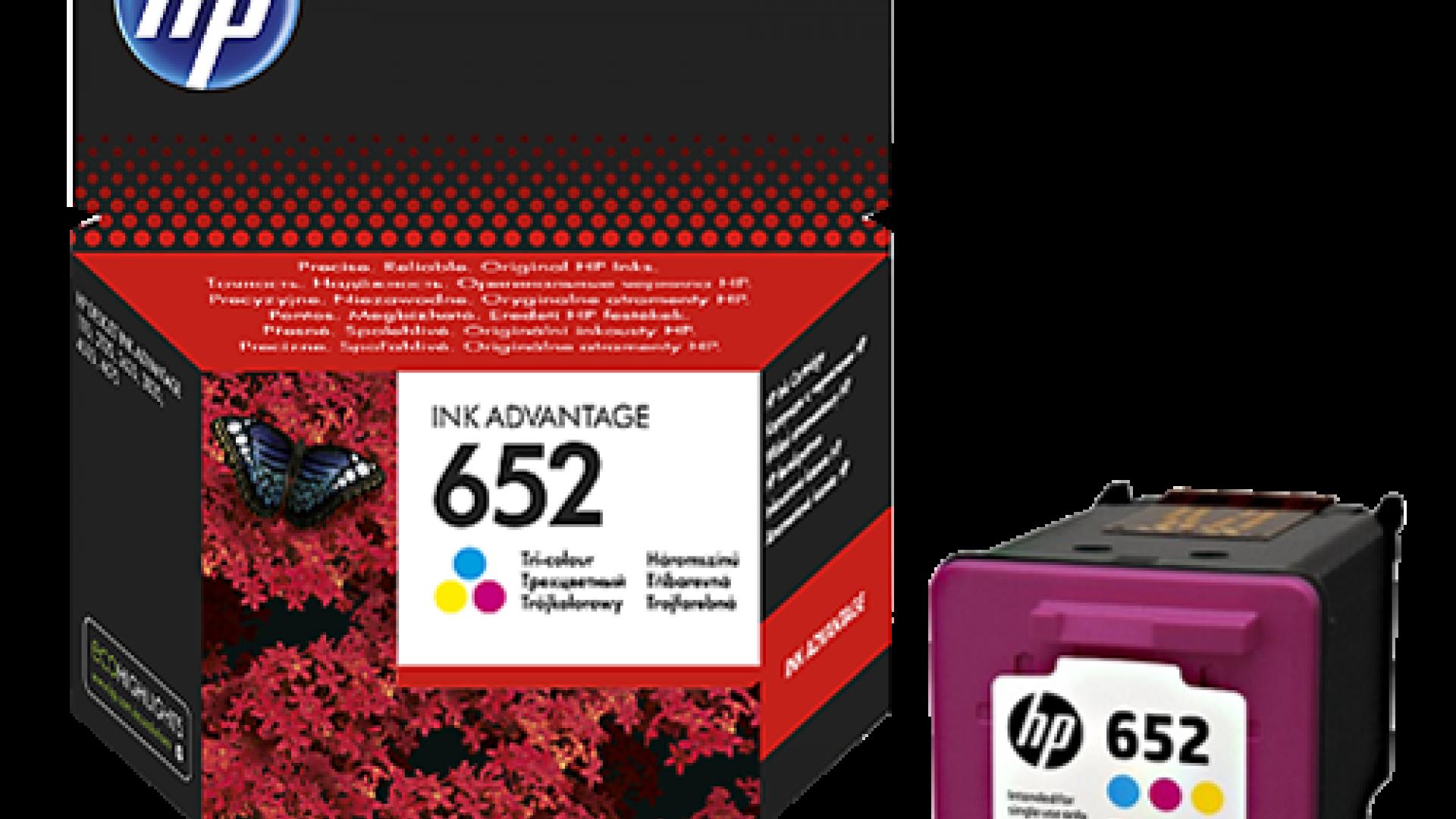 Kertridz HP 652 u boji - trobojni