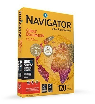 FOTOKOPIR PAPIR NAVIGATOR COLOUR DOCUMENTS A4 120gr 1/250 listova