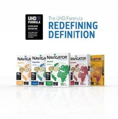 Kvalitetu Navigatora doprinosi UHD formula po kojoj se specijalno tretira površina papira.