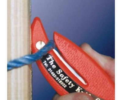 Sigurnosni skalper seče pvc konopac